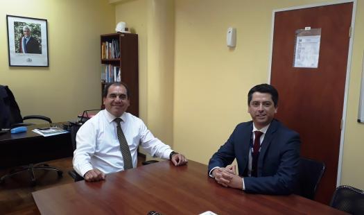 Seremi de Energía se Reúne con Director Regional SEC