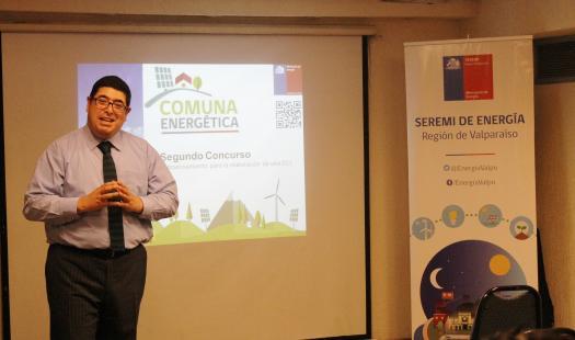 Llaman a municipios de la región a postular en la 2da versión del concurso 'Comuna Energética'