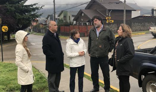 Seremi Amenábar visita junto a Gerente de Copec y autoridades locales los puntos de distribución de Kerosene en la zona alta de Coyhaique