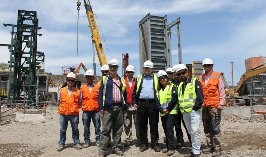 Seremi de Energía visita instalaciones de ENAP Refinería Aconcagua