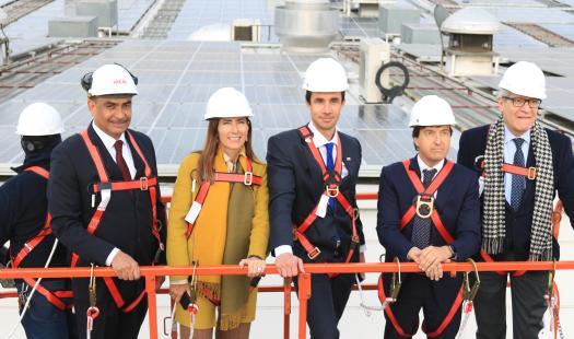Ministros Jobet y Schmidt inauguran la planta fotovoltaica 100% de autoconsumo más grande del país