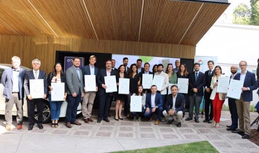 Subsecretario de Energía y AgenciaSE entregan primeros Certificados de Validación de Emisiones de GEI para Empresas que usan Electromovilidad