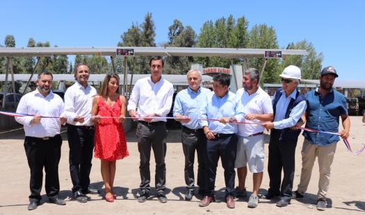 Ministro Jobet inaugura innovador proyecto de Energías Renovables en Parque Safari de Rancagua