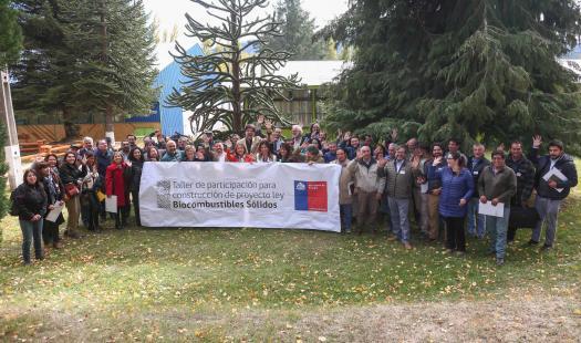 Ministra de Energía encabeza intensa agenda en Aysén y participa en taller ciudadano que entregará insumos para proyecto de ley que regulariza la leña