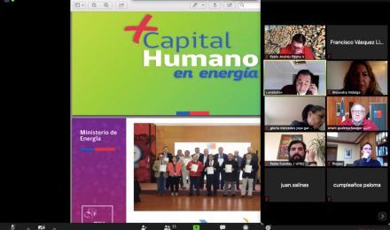 """Tercera Mesa """"+Capital Humano en Energía"""" sesiona vía online con fuerte impulso en el desarrollo pro..."""