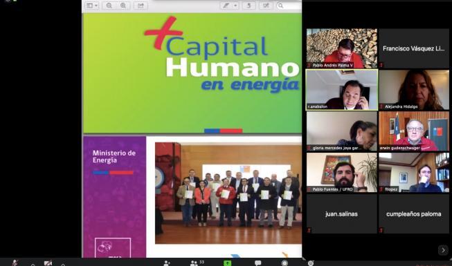 """Tercera Mesa """"+Capital Humano en Energía"""" sesiona vía online con fuerte imp..."""