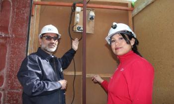 Comenzó fiscalización al sistema eléctrico de las ramadas, cocinerías y puestos de juegos del Parque El Pretil