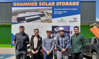 Seremi de Energía visita instalaciones de RHONA en Viña del Mar y conoce su planta fotovoltaica