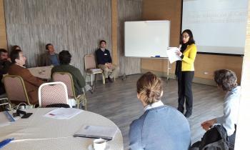 Seremi de Energía  realizó taller  para analizar impactos del cambio climático en el sector de energía