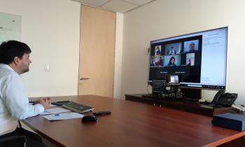 Subsecretario López da el vamos de manera virtual a electrificación para más de 300 familias de Totoral, Canto del Agua y Carrizal Bajo