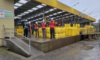 """Seremi de Energía y SEC encabezan fiscalización de entrega de """"balones de gas"""" en pandemia"""