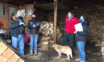 Energía y Medio Ambiente inscriben a los comerciantes de leña en el registro de la comuna de Osorno