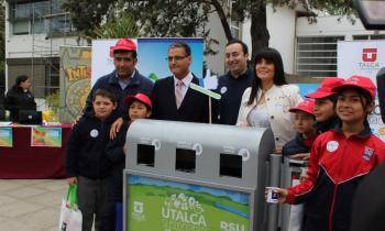 Destacada participación de Energía en Primera Feria Sustentable de UTALCA