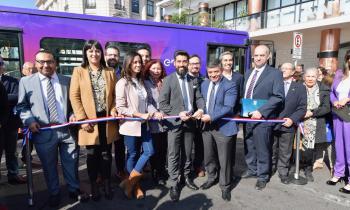 Autoridades de Gobierno y Enel X presentan primer bus eléctrico para la Región de Antofagasta que tendrá recor...