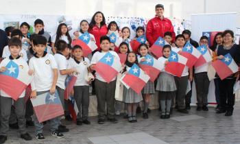 Niños de Tarapacá pasan un 18 seguro