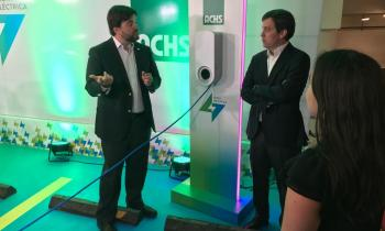 Ministro (s) López da el vamos a flota corporativa de autos eléctricos de la ACHS