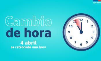 El horario de invierno comienza a regir este sábado 04 de abril