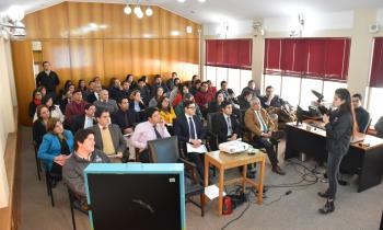 Funcionarios del Poder Judicial se suman al ahorro energético al capacitarse en Eficiencia Energética en Puert...