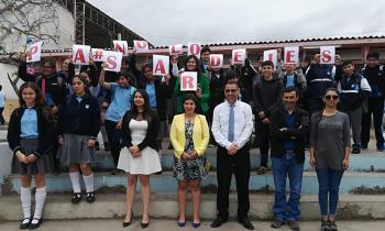 Energía + Mujer llegó a escuelas y liceos de la región de Antofagasta