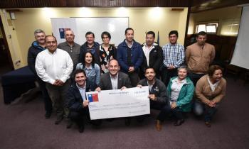 Entregaron más de $90 millones a emprendedores para fomentar el uso de leña seca en Los Ríos