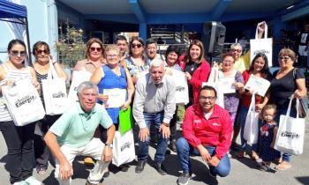 En el día mundial de la Eficiencia Energética Familias  de Tocopilla recibieron  kits eficientes