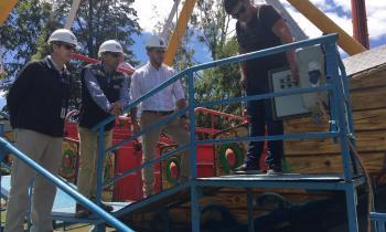 Fiscalizan instalaciones eléctricas y de gas en ferias costumbristas y Parque Saval por temporada estival