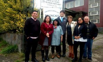 Autoridades se reúnen con dirigentes de la Unión Comunal Reloncaví de Puerto Montt para explicar cambio volunt...
