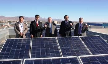 Ministro de Energía inauguró Proyecto Techos Solares del Liceo A-27 Jorge Alessandri