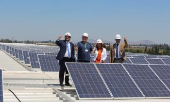 Ministro de Energía inauguró T...