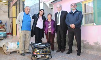 CGE entrega 118 generadores a pacientes electrodependientes de Atacama