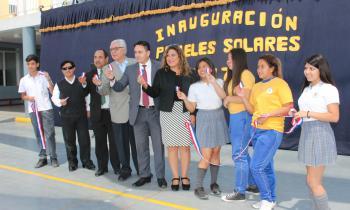 Techo Solar Público de Colegio...