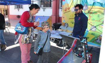 Difunden la electromovilidad y las energías renovables en Festival COP25 La Serena