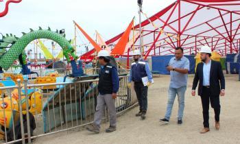Seremi de Coquimbo participa en fiscalización de la SEC en ferias y parques de entretenciones