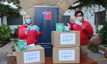 Donan 5.500 mascarillas para grupos vulnerables de la Región de Coquimbo