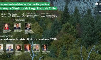 EN VIVO: Lanzamiento elaboración participativa - Estrategia Climática de Largo Plazo de Chile