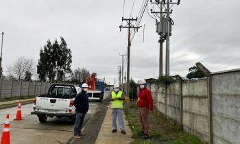 Seremi de Energía de Los Lagos valora el Plan de Retorno Seguro tras conexión eléctrica de 398 viviendas en Puerto Montt