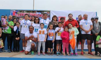 Seremi de Energía apoya el Deporte en la Corrida Familiar del MOP en Arica