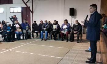 """Junta de Vecinos y Asociaciones Indígenas de Negrete y Mulchén participan en taller """"Guía de DDHH y Proyectos de Energía"""