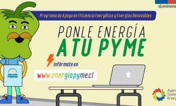 """Programa """"Ponle Energía a tu Pyme"""" destina 1.200 millones de pesos para apoyar al sector productivo"""