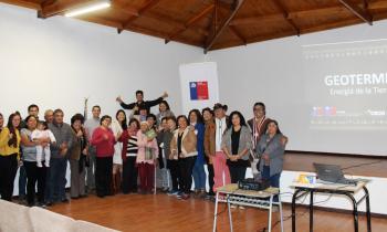Pueblos indígenas recibieron capacitación sobre la geotermia