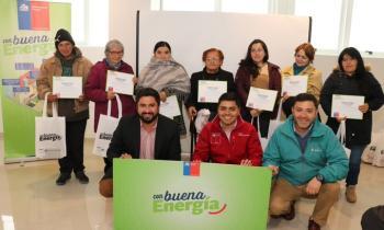 100 vecinos de Talcahuano se...