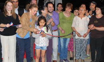 Subsecretaria de Energía inauguró luminarias en Molina  y entregó boletas cero peso en Colbún