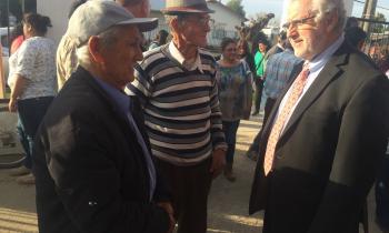 Ministro visita la Región del...